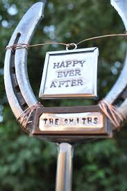 personalized horseshoes 16 best wedding horseshoes images on horseshoes