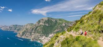 Positano Italy Map Trails On The Amalfi Coast Hiking The Amalfi Coast