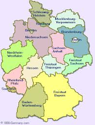 map of regions of germany regions of germany map major tourist attractions maps