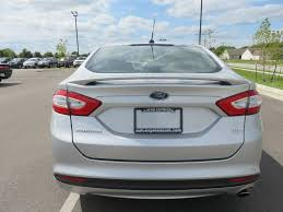 2014 used ford fusion se sunroof 18