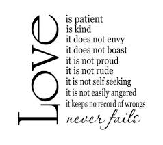 love is patient quote homean quotes