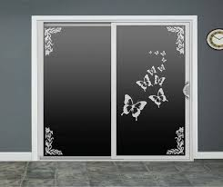 stickers for glass doors butterfly glass door decals sliding door decal by roomsbyangie