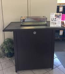 larry u0027s heating u0026 cooling kozy heat bar table w fireplace