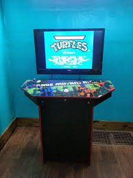 Pedestal Cabinets 4 Player Pedestal Arcade Cabinet For Mame 32 Steps With Pictures