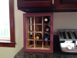 Valspar Nautical by Hand Crafted Wine Bottle Organizer Made With Reclaimed Wood