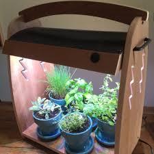 growing herbs indoors under lights grow herbs led habitats