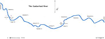 cumberland river map maps save the cumberland