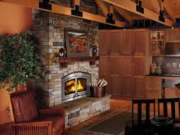 south island fireplace bis by security built in woodburning