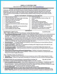 Sample Resume Business Analyst by Agile Resume Resume For Your Job Application