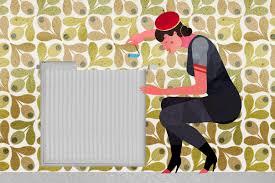 comment tapisser une chambre comment tapisser derrière les radiateurs pour poser