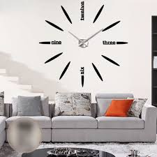 Decorative Wall Clocks For Living Room Decorative Wall Clocks For Living Room Shenra Com