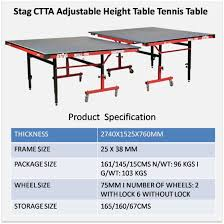 how big is a ping pong table ping pong table size table designs