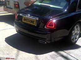 roll royce karnataka take a look at this number plate page 17 team bhp