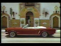steve mcqueen mustang commercial 1980s ford mustang commercial w michael jackson impersonator