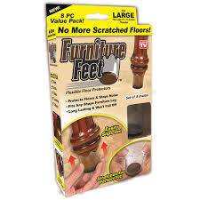 furniture large floor protectors value pack 8 count