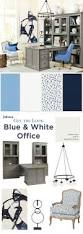 202 best office images on pinterest ballard designs office get the look blue white home office