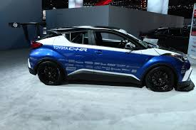 suv toyota chr toyota c hr compact suv at the los angeles auto show gallery