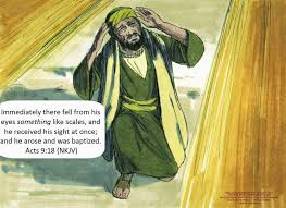 I Was Blinded By The Light Bible Fun For Kids Saul Sees The Light