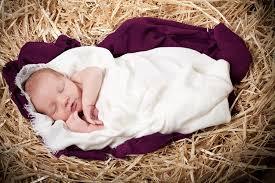 baby jesus nativity peg pondering again