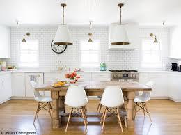 cuisine bois blanche deco cuisine blanc et bois photos de design d intérieur et
