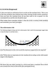 circular motion flipped around physics