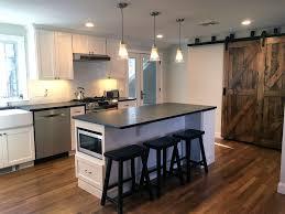 barn door for kitchen cabinets kitchen cabinets journal dickinson architects llc