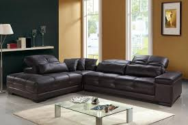 Genuine Leather Sectional Sofa Avarii Org Home Design Best Ideas