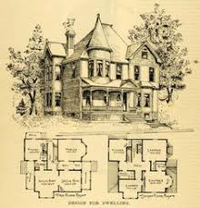 Designer Floor Plans 1873 Print House Home Architectural Design Floor Plans Victorian