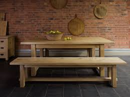 Wood Bench Metal Legs Kitchen Table Oval Wooden Bench For Metal Wrought Iron 8 Seats