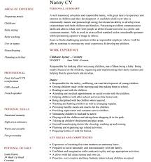 Resume For Babysitting Sample by 18 Best Babysitter Resume Sample Templates Wisestep