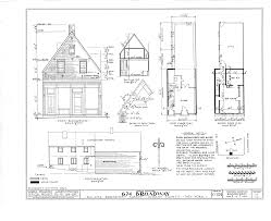 house dimensions file dutch gable house 674 broadway albany albany county ny