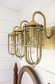 brushed brass light fixtures wonderful antique brass light fixtures bathroom incredible