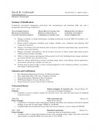 Best Construction Resume by Construction Project Manager Resume Resume For Your Job Application