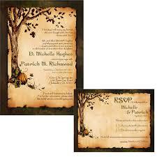 fall wedding invitations plumegiant com