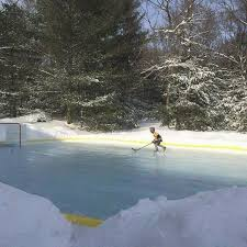 Backyard Rink Liner by Best 25 Backyard Ice Rink Ideas On Pinterest Ice Rink Ice