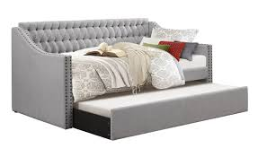 Daybeds With Trundles Olivia Gray Tufted Twin Daybed With Trundle With Free Selected