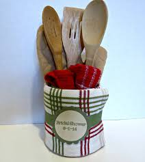 Hostess Gifts For Bridal Shower Dish Towel Centerpiece Perfect For Bridal Showers Hostess
