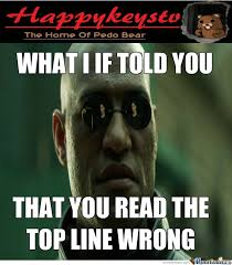 The Matrix Meme - matrix morpheus wrong by happykeystv meme center