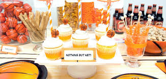 basketball party ideas slam dunk march madness basketball birthday party ideas printables