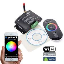 led strip lights wifi controller change rgb controller series