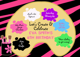 invitation party ideas pinterest art party birthdays and