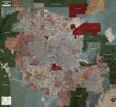 Las Vegas Maps Las Vegas Rolled Aerial Map