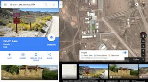 Area 51 Map If You Try To Street View Into Area 51 On Google Maps The Little