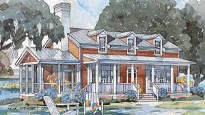 Southern Living Cottage Floor Plans Tidewater Cottage Coastal Living Southern Living House Plans