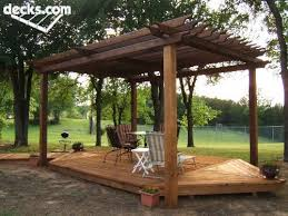 Deck Plans With Pergola by Trex Deck Over Your Concrete Patio With Pergola Over It And Some