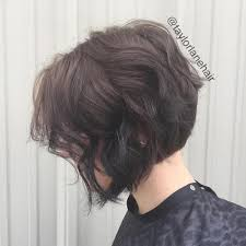 back view wavy short bob for thick hair 2015 the full stack 30 hottest stacked haircuts