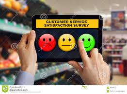 customer service satisfaction survey stock photo image 60244552