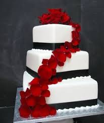 what kind of wedding should you have white cakes red velvet