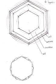 hexagon house plans alex warren architecture interesting books
