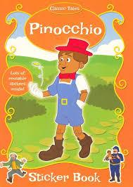 booktopia pinocchio classic tales sticker book